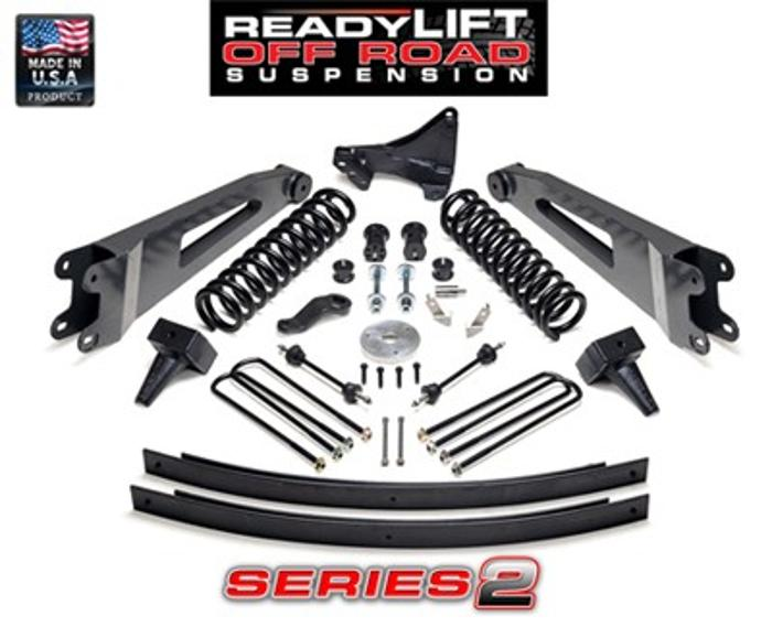 ReadyLift Ford Super Duty 5in Lift Kit - Series 2 - 2011-UP