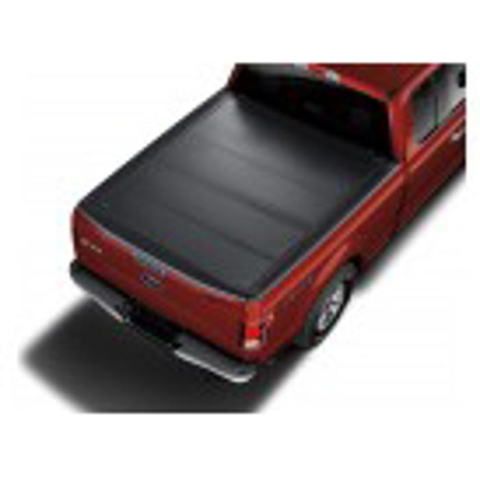 8.0 Bed, 2015-2017 Ford F-150 Tonneau Cover - Hard Folding by REV, Between the Rail