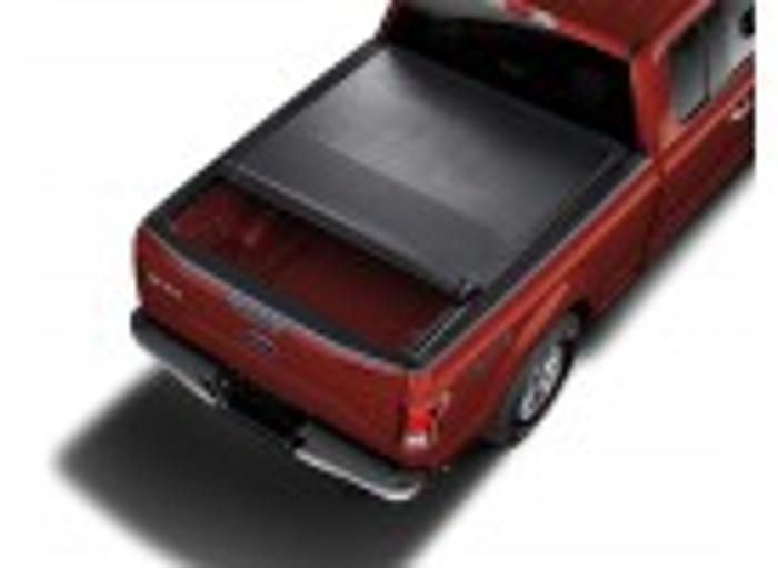 6.5 Bed, Platinum, 2015-2017 Ford F-150 Tonneau Cover - Soft Roll-Up by Truxedo