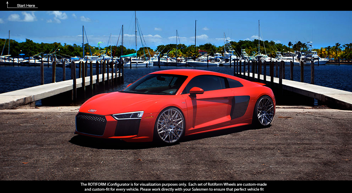 Build & Customize Your Car With Rotiform Wheels Car Builder
