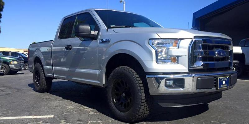 Ford F-150 Vector - D579