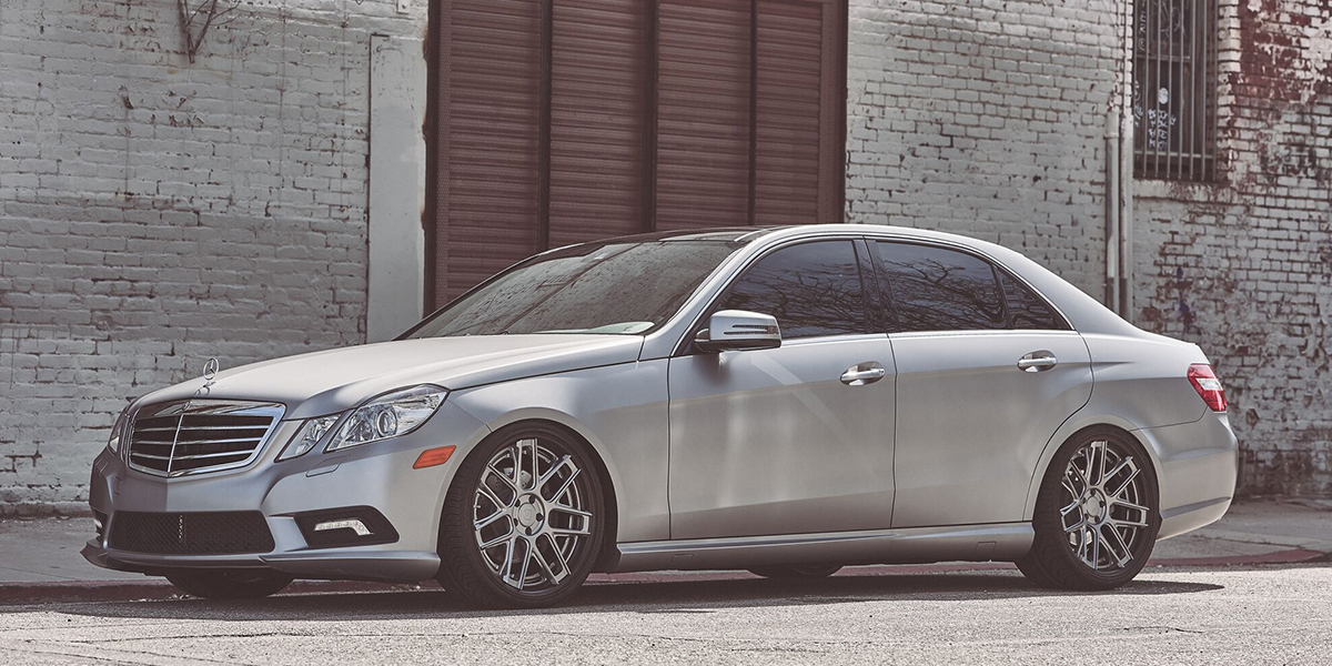 Mercedes-Benz E500 with Asanti Forged Wheels TL102