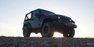 Jeep Wrangler with Vision Off Road 372 Raptor