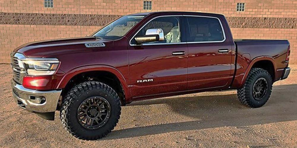 Ram 1500 with Vision Off Road 111 Nemesis