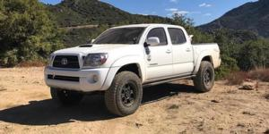 Toyota Tacoma with Vision Off Road 372 Raptor