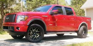 Ford F-150 with Vision Off Road 360 Sliver