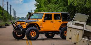 Jeep Wrangler with Vision Off Road 111 Nemesis
