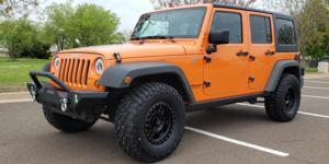 Jeep Wrangler with Vision Off Road 398 Manx