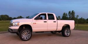 Ram 2500 with Vision Off Road 361 Spyder