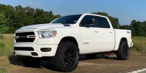 Ram 1500 with Vision Off Road 353 Turbine