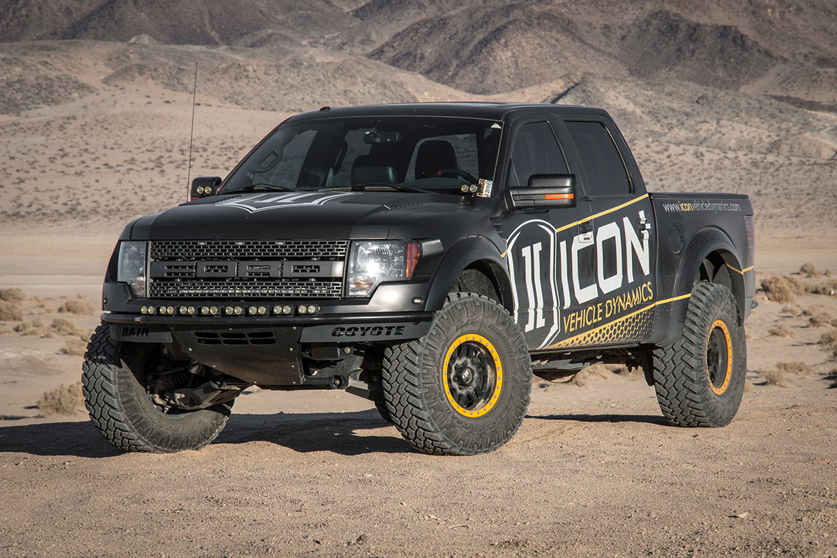 Ford F-150 Raptor Icon Alloys Six Speed