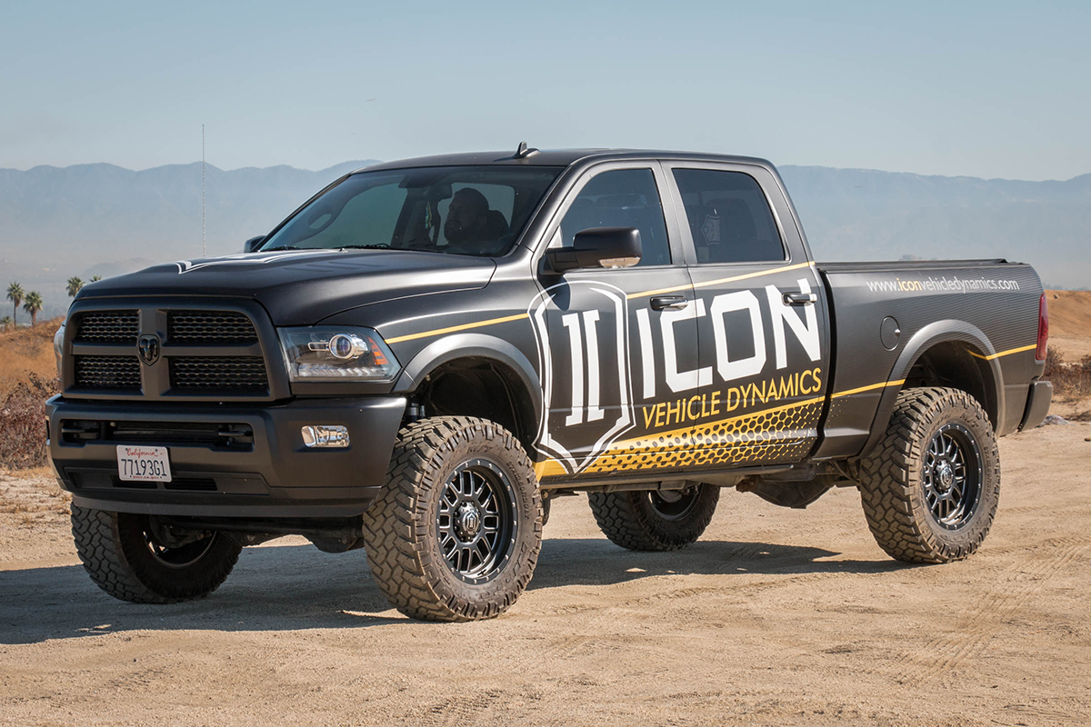 Ram 2500 Icon Alloys Alpha