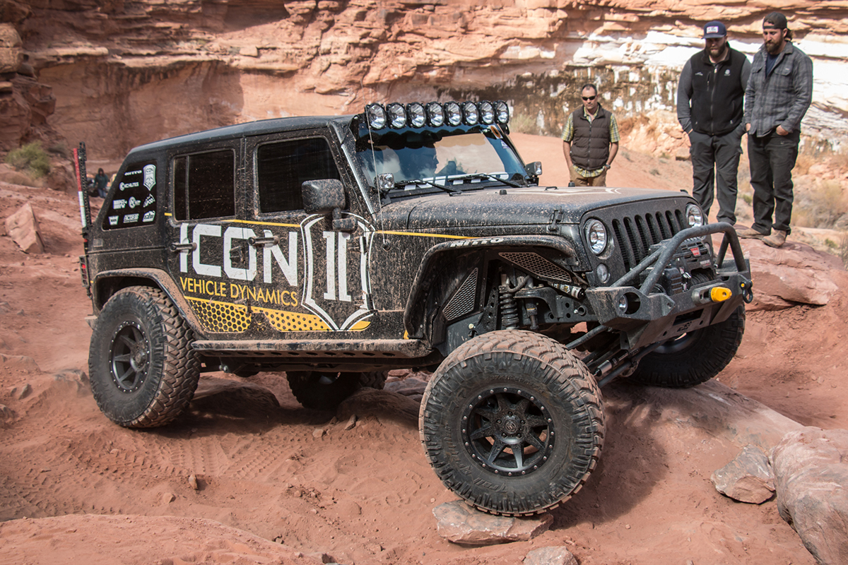 Jeep Wrangler JK Icon Alloys Rebound
