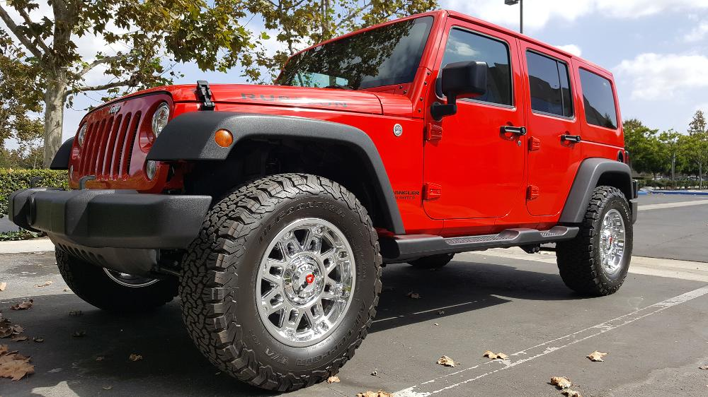 Jeep Wrangler 811 Conquest