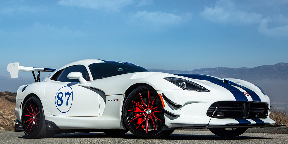 Dodge Viper with Asanti Forged Wheels CX875