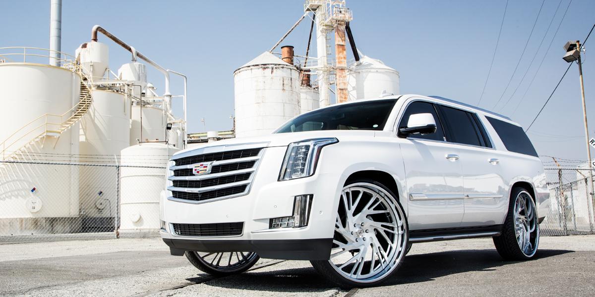Cadillac Escalade with Asanti Forged Wheels AF868