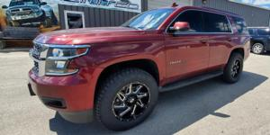 Chevrolet Tahoe with Vision Off Road 361 Spyder