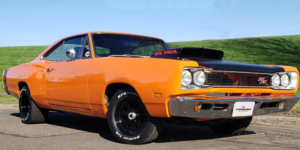Dodge Coronet with Vision Wheel 531 Sport Lite