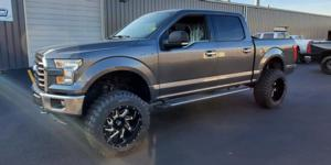 Ford F-150 with Vision Off Road 361 Spyder