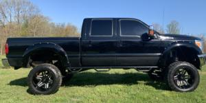 Ford F-250 Super Duty with Vision Off Road 363 Razor