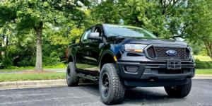 Ford Ranger with Vision Off Road GV8 Invader