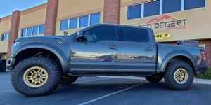 Ford F-150 with Vision Off Road 398 Manx-Beadlock
