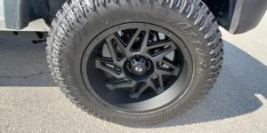 Jeep Wrangler JK with Vision Off Road 361 Spyder