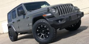 Jeep Wrangler with Vision Off Road 362 Armor