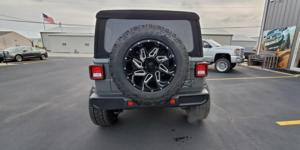 Jeep Wrangler with Vision Off Road 361 Spyder