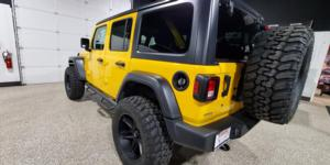 Jeep Wrangler with Vision Off Road 363 Razor