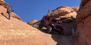 Jeep Wrangler with Vision Off Road 354 Manx 2