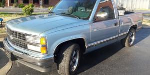 Chevrolet Silverado 1500 with Vision Wheel 142 Legend 5