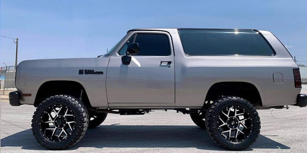 Ram Charger with Vision Off Road 360 Sliver