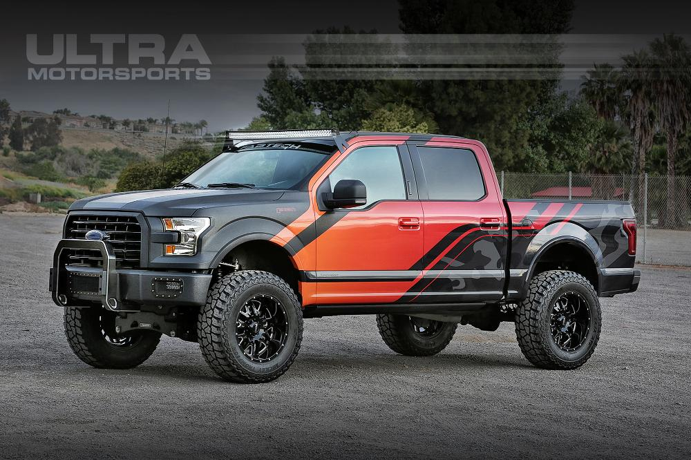 Ford F-150 ULTRA MOTORSPORTS 203 Hunter
