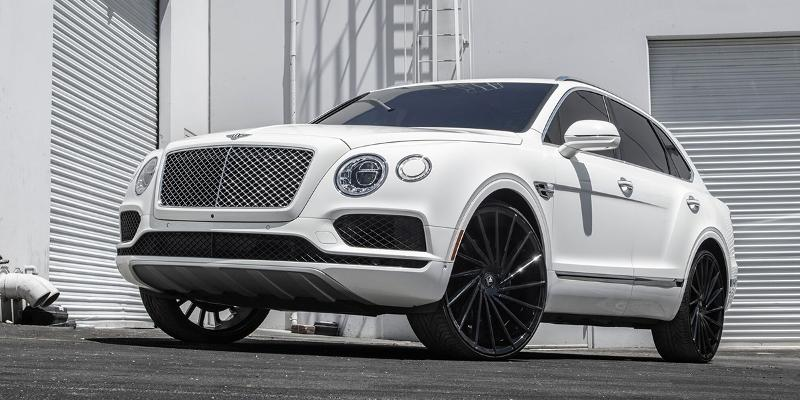 Bentley Bentayga with Asanti Black Label ABL-18 Matar