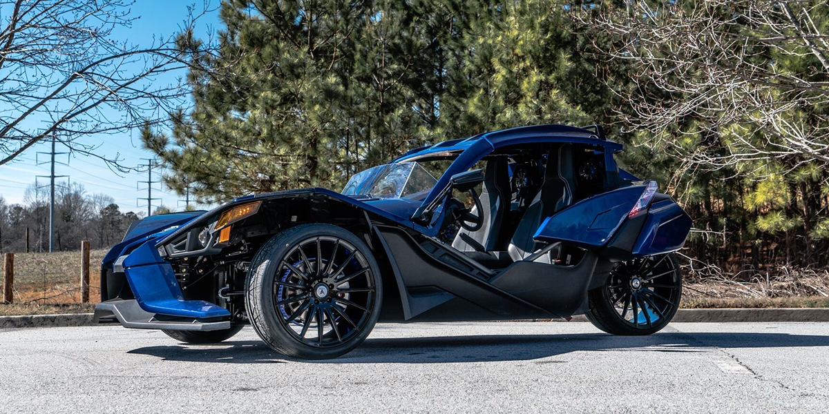 Polaris Slingshot with Asanti Black Label ABL-14 Polaris
