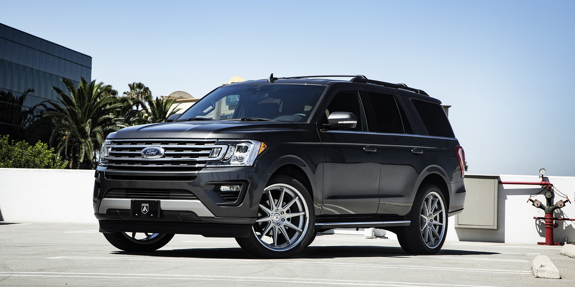 Ford Expedition with Asanti Black Label ABL-29