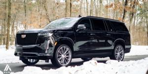 Cadillac Escalade with Asanti Black Label ABL-30 Corona