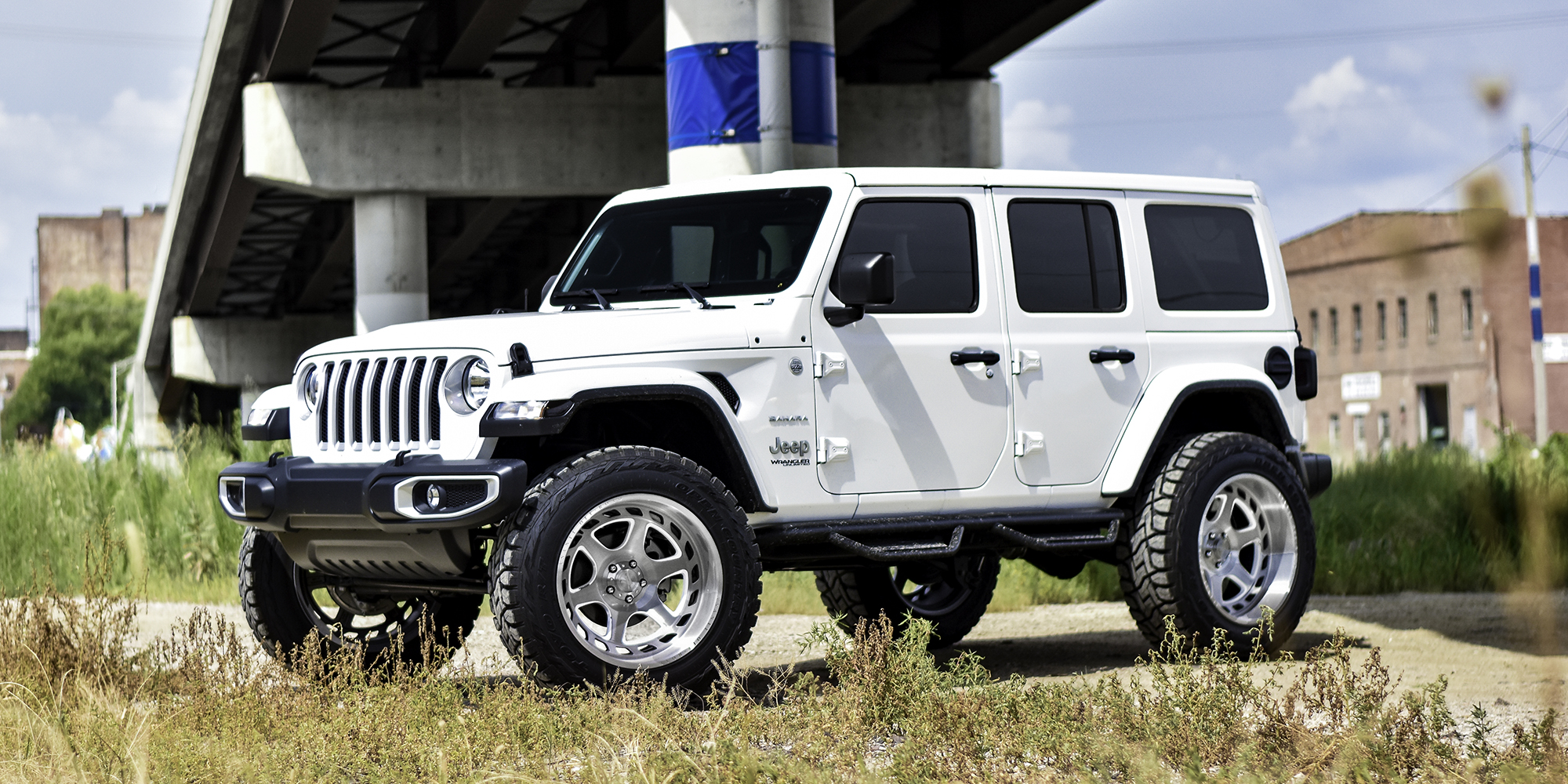 Jeep Wrangler with Asanti Off-Road AB816 Anvil