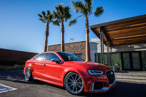 Audi RS3 with TSW Bathurst