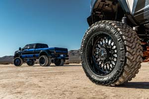 Ram 3500 Dual Rear Wheel