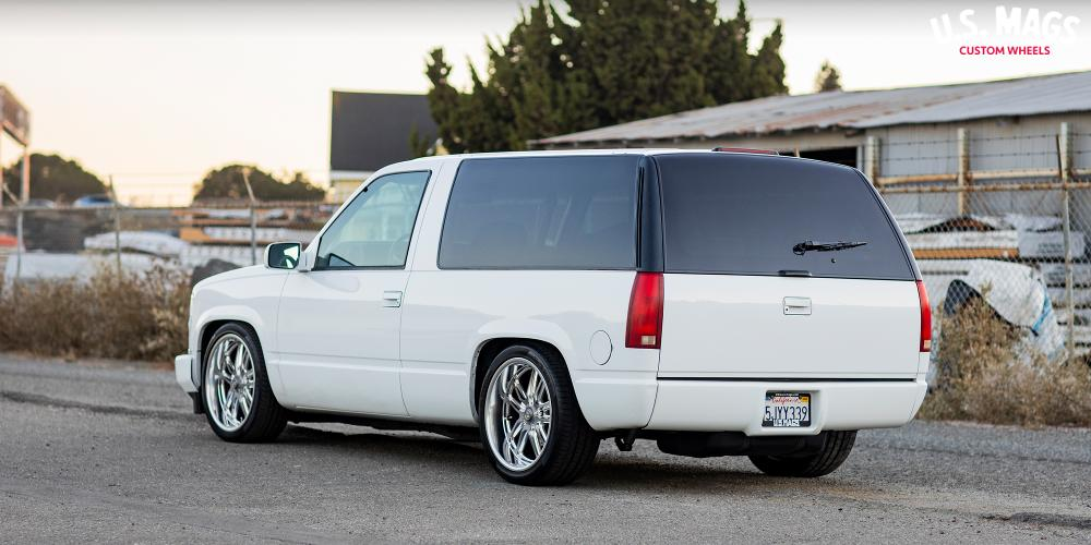 Chevrolet Tahoe with US Mags Bullet - U130