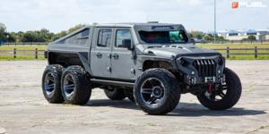 Jeep Gladiator with Fuel 1-Piece Wheels SFJ - D764