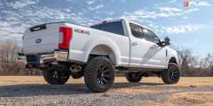 Ford F-250 Super Duty with Fuel 1-Piece Wheels Siege - D704