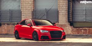 Audi A3 with Rotiform BUC