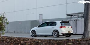 DTM on Volkswagen Golf R