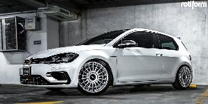 LAS-R on Volkswagen Golf R