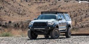 Toyota Tacoma with Fuel 1-Piece Wheels Nitro 6 - D668