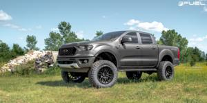 Ford Ranger with Fuel 1-Piece Wheels Rebel 6 - D679