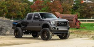 Ford F-250 with Fuel 1-Piece Wheels Sledge - D631